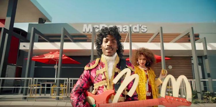 This McDonald's South Africa ad has got some people hot under the collar.