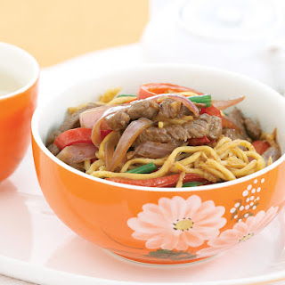 Mongolian Lamb with Hokkien Noodles