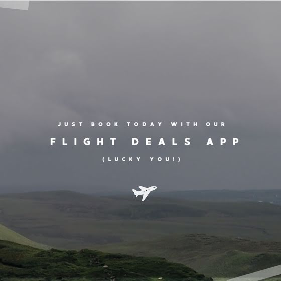 Flight Deals App - St. Patrick's Day Template