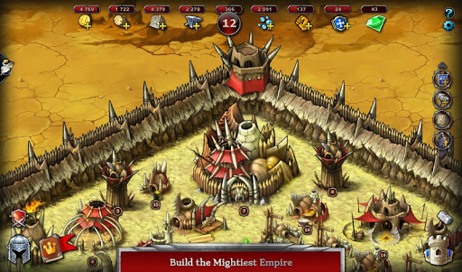 Télécharger gratuit Emporea: Real-time Multiplayer War Strategy Game APK MOD 1