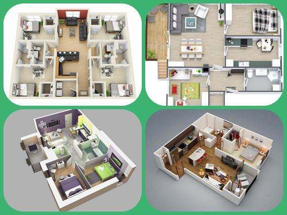 3d Modern House Plan Android Apps On Google Play