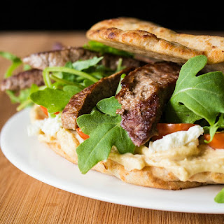 Naanwich Steak Wrap