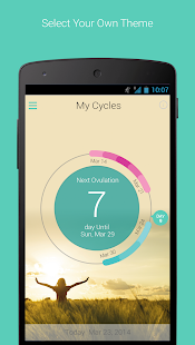 My Cycles Period and Ovulation- screenshot thumbnail
