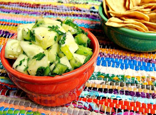 Raw Cucumber Salsa