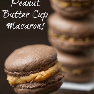 Peanut Butter Cup Macarons
