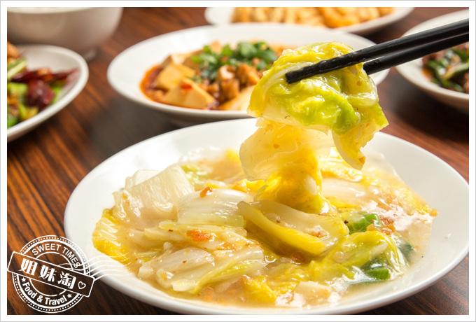 饕客食堂扁魚白菜