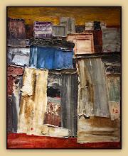 Photo: Antonio Berni Villa Piolín 1958. 100 × 79 cm. Óleo sobre tela. Colección particular, Buenos Aires. Expo: Antonio Berni. Juanito y Ramona (MALBA 2014-2015)