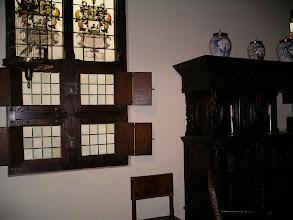 Photo: 17th c. window in museum room.