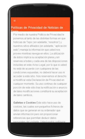 android Noticias de Tepic Screenshot 1