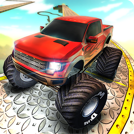 Monster Truck Impossible Tracks Drive Challenge