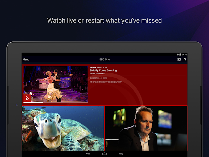 BBC iPlayer- screenshot thumbnail