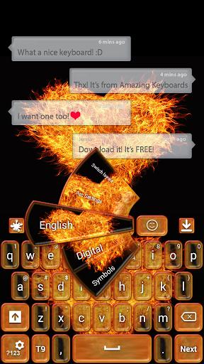Love on Fire Theme