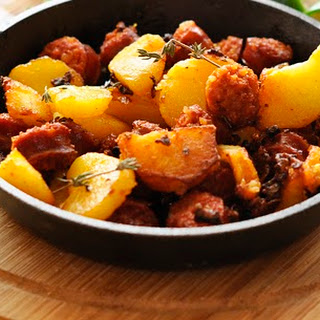 Chorizo with Potatoes Recipe