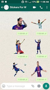Messi Stickers For Whatsapp Screenshot