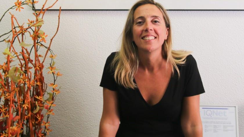 Laura Camacho, en la Agencia IDEA