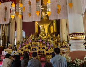 Photo: 3. Wat Phra Singh, the largest temple in the old city.
