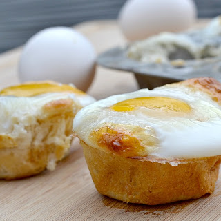 Crescent Roll Egg Cups.