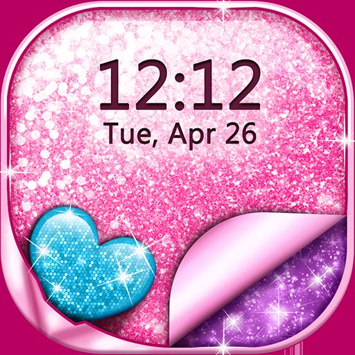 ✨ Glitter Live Wallpaper