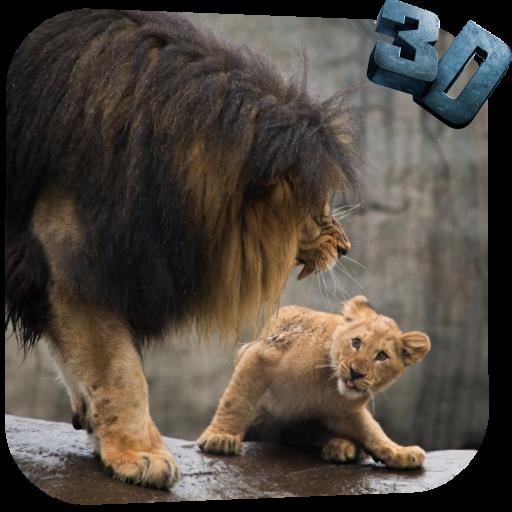 Lion Video Live Wallpaper