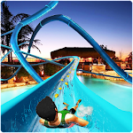 Water Slide Sliding Water Games Icon