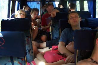 Photo: Через полчаса будем на месте после 26 часов в автобусе