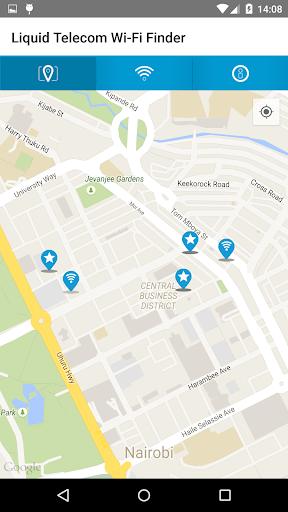 Liquid Telecom Wi-Fi Finder