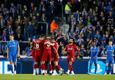 Un Genk courageux se fait tout de même corriger par Liverpool