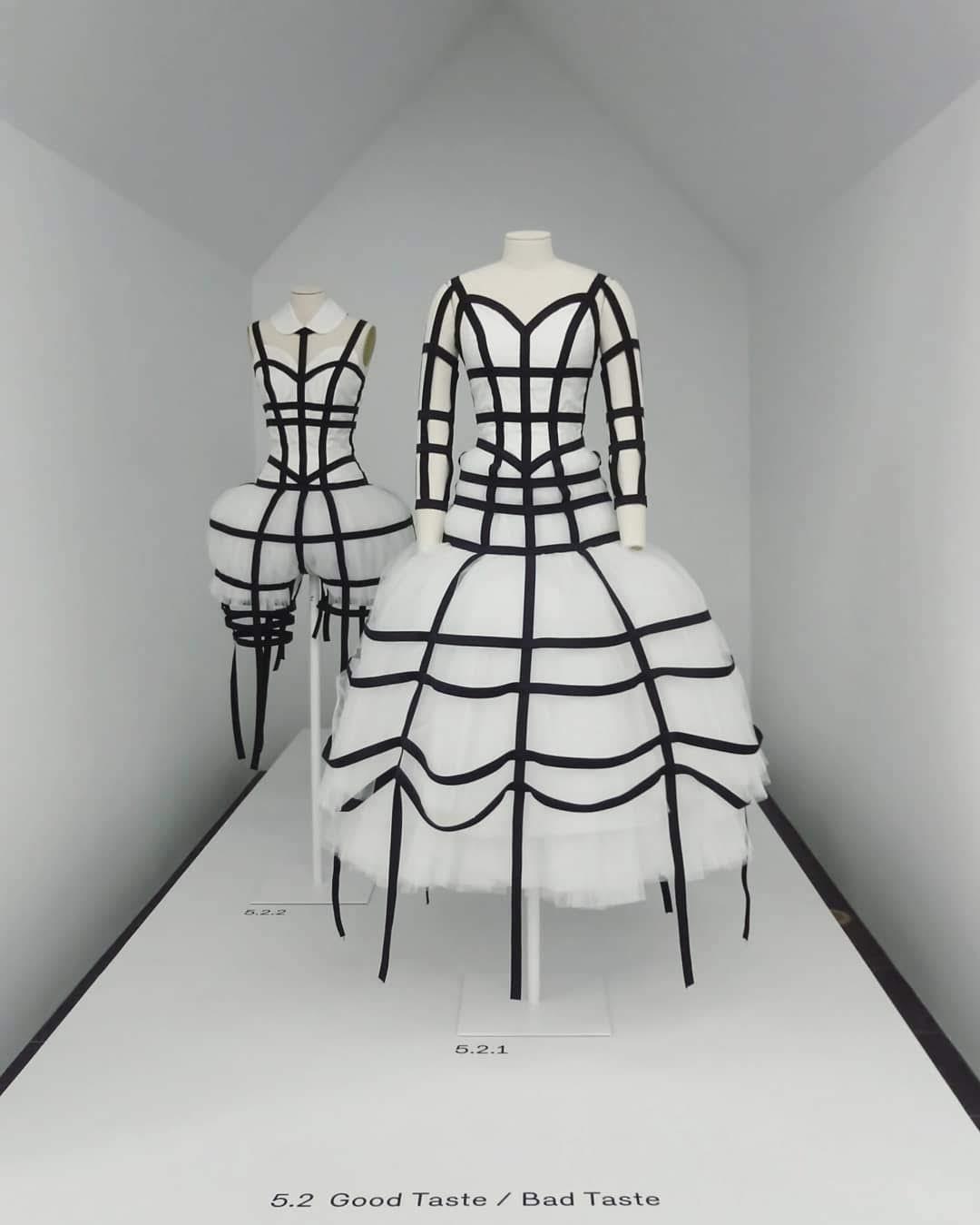 Bubblegum Dreaming Cage Dress Inspiration: Comme des Garçons AW 2008-9