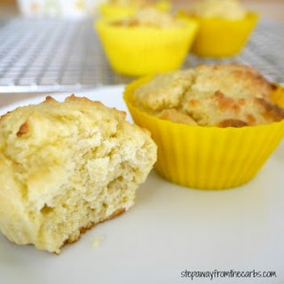 Low Carb Lemon Muffin