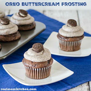Oreo Buttercream Frosting and other Oreo Recipes