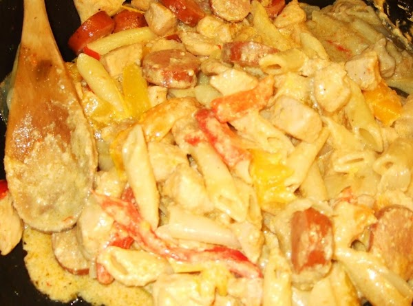Creamy Cajun Chicken Andouille Recipe