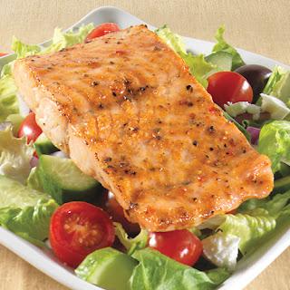 Signature Salmon Greek Salad