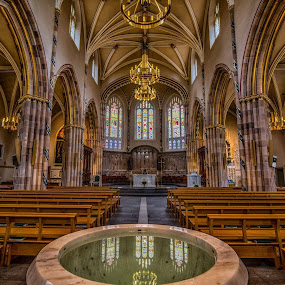 St Andrews Glasgow by Rana Jabeen - Buildings & Architecture Places of Worship ( interior, reflection, uk, gothic, art, cathedral, architecture, design )