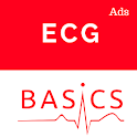 EKG Basics - Learning and interpretation made easy icon