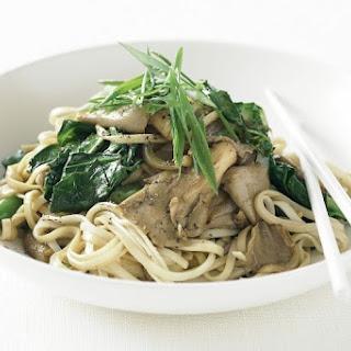 Oyster Mushroom And Noodle Stir-fry