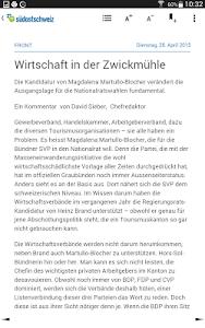 Südostschweiz (Tablet) screenshot 7