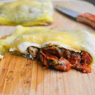 Pesto Chicken Turnovers.