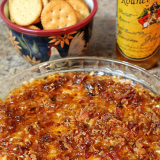 CAPTAIN RODNEY'S BAKED CHEESE DIP.