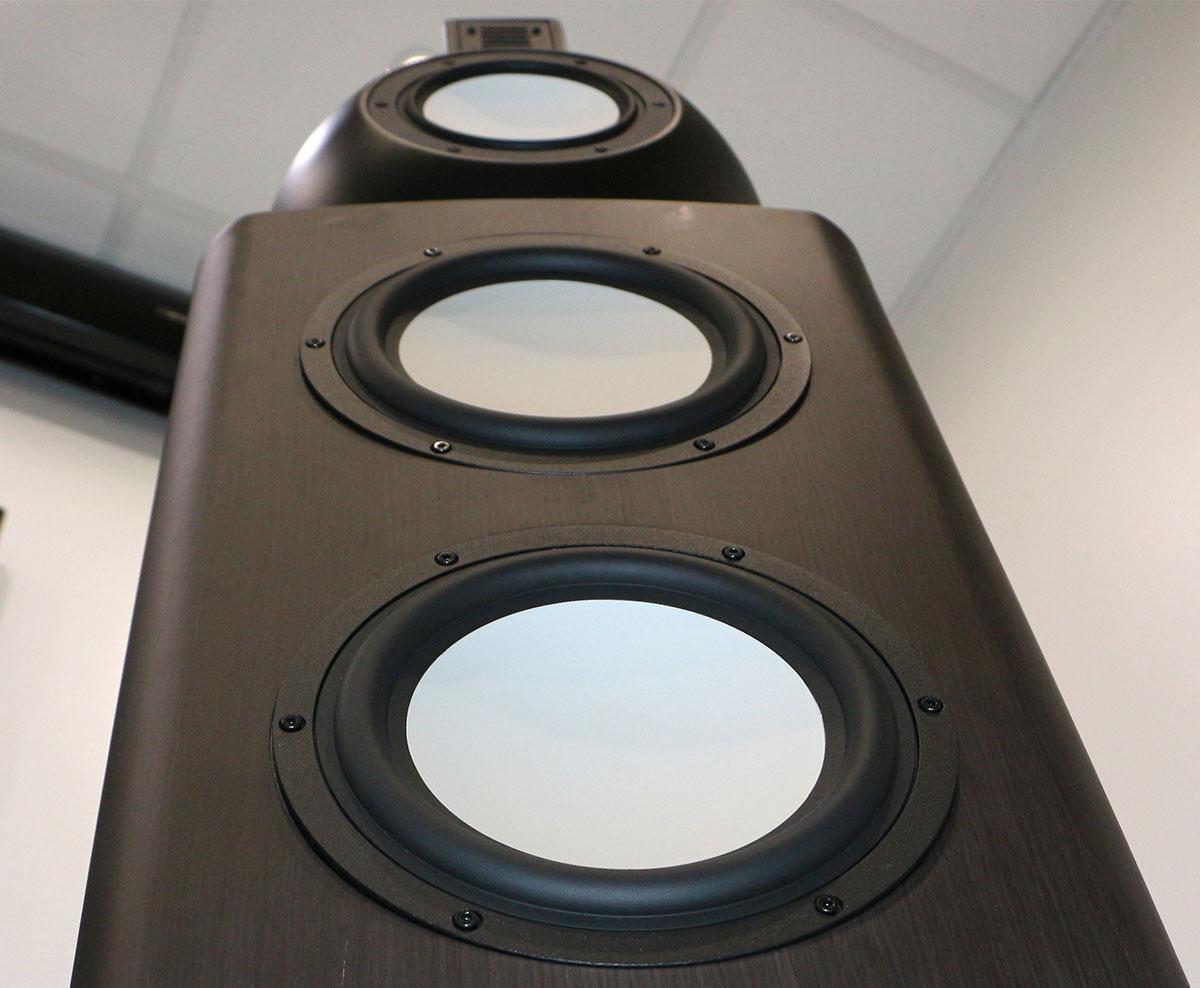 Mini Étagère d/'angle acrylique effet verre plexiglas idéal pour haut-parleur surround