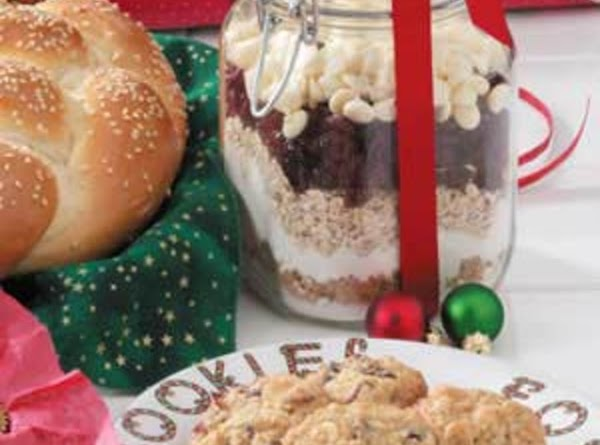 Christmas Cookies In A Jar Recipe