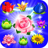 Blossom Match 3: Flower Forest Blast