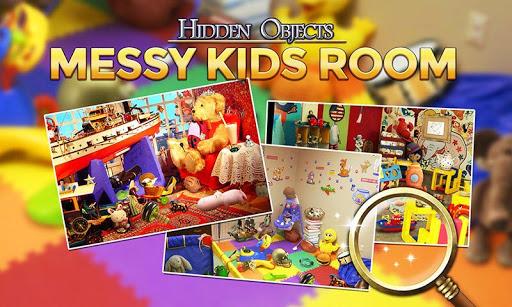 Crazy Kids Room: Hidden Object