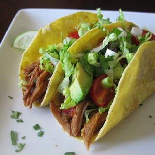 Mexican Shredded Pork Tacos / Crock Pot.