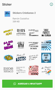 Stickers Cristianos 2 Screenshot