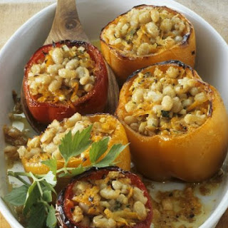 Bean-stuffed Peppers