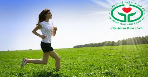 Vận động thể chất đều đặn giúp da hồng hào hơn