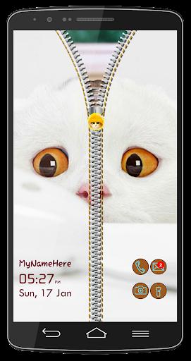 子猫猫の画面のロック