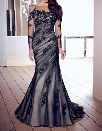 晚礼服的设计