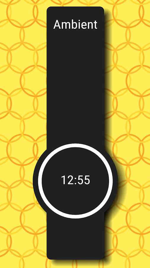 Ring Clock Watch Face Android Apps On Google Play