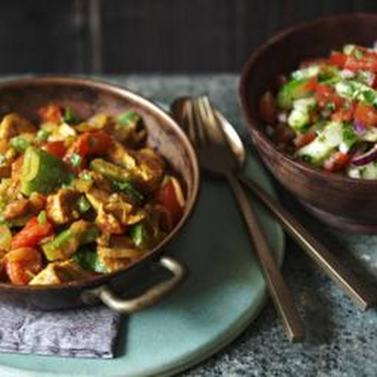 Low-fat Chicken Curry